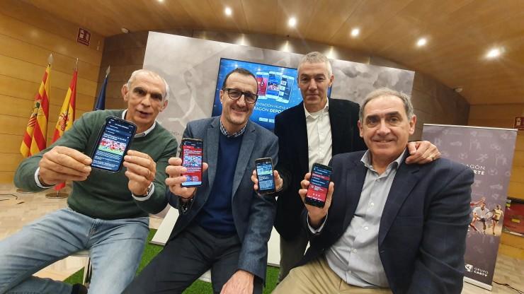 Todo el deporte aragonés en el móvil con la nueva APP de Aragón Deporte