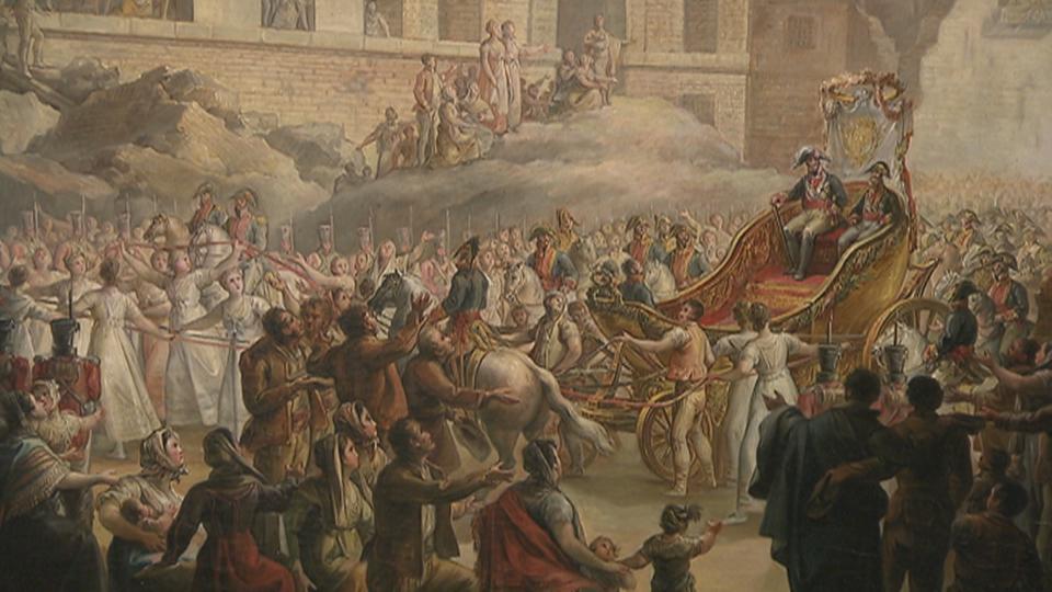 El viaje de Fernando VII de Valençay a Madrid se estrena en el Museo Goya |  Artes plásticas | Nuestra cultura | Aragón Cultura (CARTV)