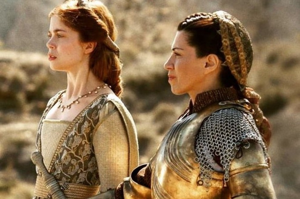 Екатерина с мамой. Фото с сайта cartv.es